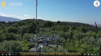 Thissio Station from above